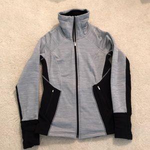 Athleta zip front sweatshirt/jacket